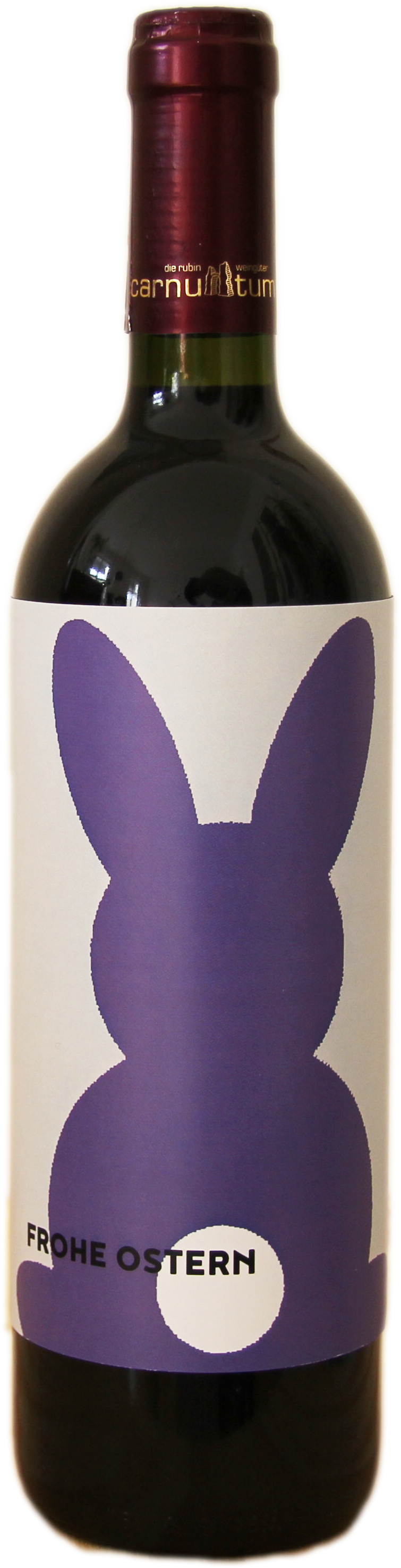 Osterflasche Lila