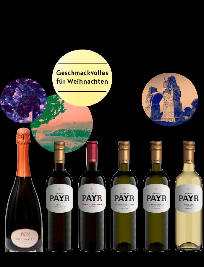Weinflasche FESTTAGSBOX KLASSIK