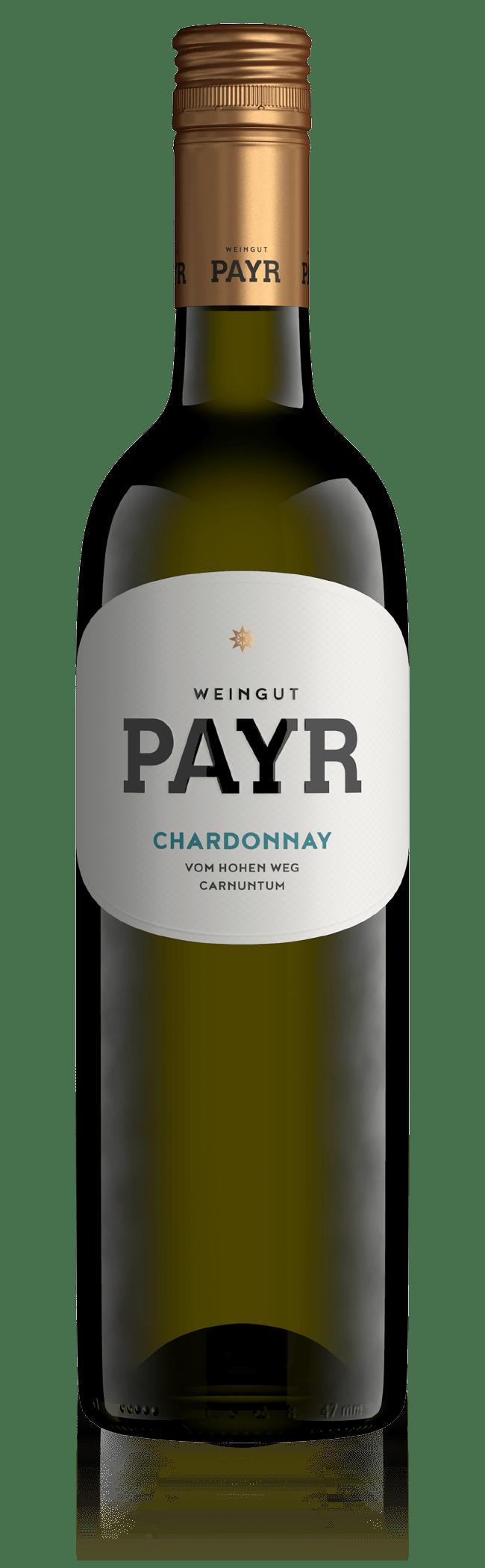 Weinflasche Chardonnay
